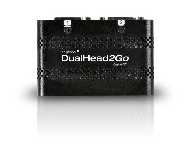 Matrox DualHead2Goデジタル版 SE 【型番】D2G/DSE ※店頭取り扱い