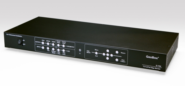 ■販売終了■ GeoBox エッジブレンディングプロセッサー(1出力) 【型番】G-104H ※販売終了