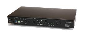 GeoBox G-105 多機能ビデオプロセッサー(4入力2出力) 【型番】G-105 ※お取り寄せ