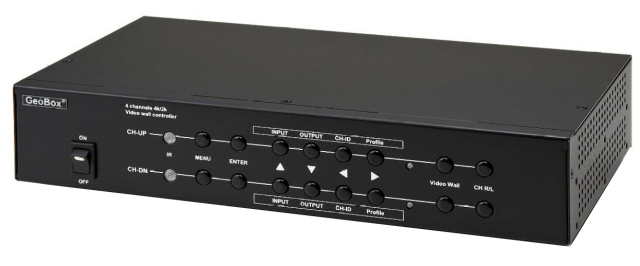 ■在庫限りで販売終了■ GeoBox G-405 4K/30P マルチディスプレイコントローラー(4出力) 【型番】G-405 ※店頭取り扱い