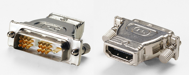 HDMIメス ⇔ DVI-Dオス変換アダプター 【型番】HAF-DM ※お取り寄せ