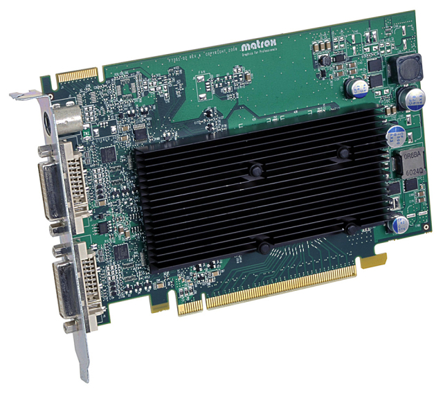 Matrox M9120 PCIe x16/J 【型番】M9120/512PEX16 ※お取り寄せ