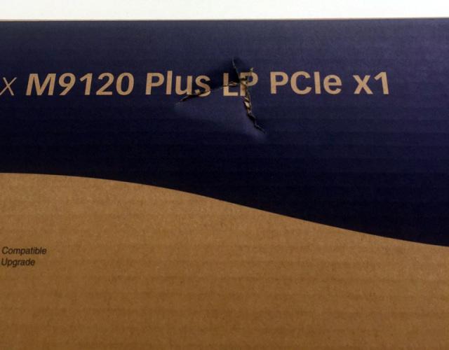 ■アウトレット■ Matrox M9120 Plus LP PCIe x1/J 【型番】M9120/512PEX1/LP ※店頭取り扱い