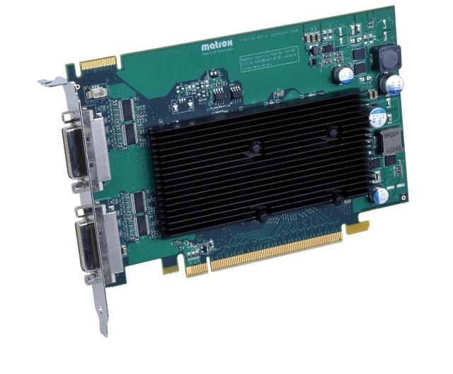 Matrox M9125 PCIe x16 DualLink/J 【型番】M9125/512PEX16 ※お取り寄せ