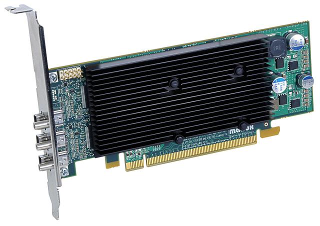 Matrox M9138 EX LP PCIe x16/J 【型番】M9138EX/1024PEX16/LP ※お取り寄せ