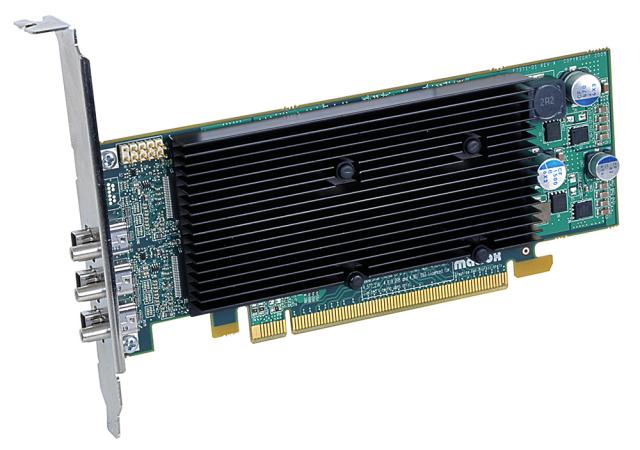Matrox M9138 LP PCIe x16/J 【型番】M9138/1024PEX16/LP ※お取り寄せ