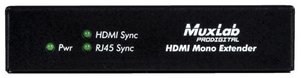 MuxLab(マックスラボ)ツイストペア伝送HDMI受信器(HDBaseT準拠) 【型番】MUX-EH500451-RX ※お取り寄せ