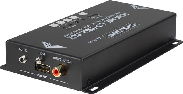 ■販売終了■ SHINYBOW(シャイニーボー)ARC対応HDMIオーディオ分離器 【型番】SB-5610 ※販売終了