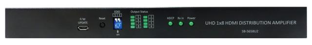 ■半額・直送■アウトレット(新品未使用品/保証なし/サポートなし)■ SHINYBOW(シャイニーボー)1入力8出力HDMI2.0スケーラー分配器 【型番】SB-5658U2 ※店頭取り扱い