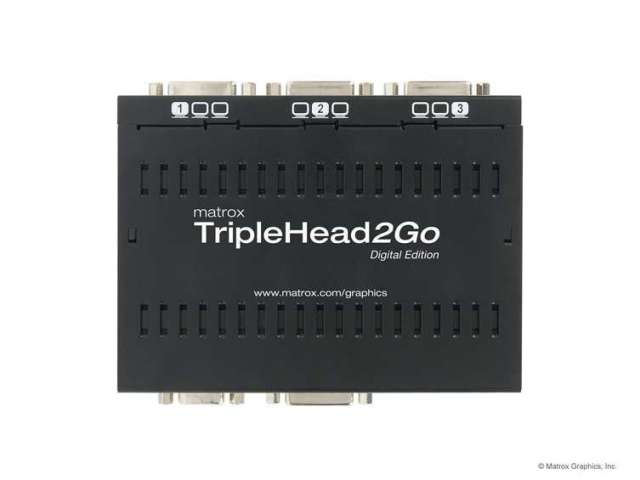 Matrox TripleHead2Goデジタル版 【型番】T2G/D ※店頭取り扱い