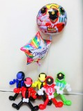 入学・卒園・七五三祝バルーンギフト 「ルパンレンジャー・パトレンジャー お祝バルーン&バルーンアート」 バルーン電報になります。
