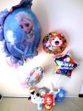 お誕生日祝「送料無料 アナと雪の女王&妖怪ウォッチ・お誕生日祝バルーン&バルーンアート」