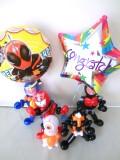 入園祝・入学祝・七五三「仮面ライダー・ゴースト お祝バルーン&バルーンアート」バルーン電報になります。