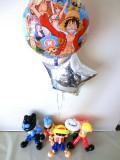 お誕生日祝「ワンピース・ルフィ&サボ&トラファルガー・ロー&フランキー&ドフラミンゴのバルーン&バルーンアート」