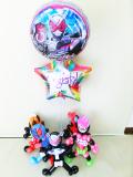 入学祝・卒業祝・七五三・卒園祝・卒業祝「仮面ライダー・ジオウ お祝バルーン&バルーンアート」バルーン電報になります。