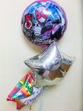 入学祝入園祝 七五三 ジオウ バルーンギフト「送料無料 仮面ライダー・ジオウ  お祝バルーン」