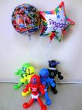 入学祝・卒業祝・七五三・卒園祝・卒業祝「宇宙戦隊キュウレンジャー お祝バルーン&バルーンアート」バルーン電報になります。