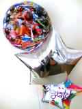 入学祝・入園祝・誕生日祝・卒園祝・七五三「送料無料 宇宙戦隊キュウレンジャーお祝バルーン」バルーン電報になります。