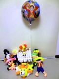 結婚祝・誕生日祝・開店祝・入学祝・卒業祝「サニー号&ワンピース麦わら海賊 バルーン&バルーンアート」バルーン電報になります。