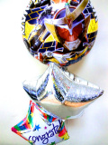 「送料無料 仮面ライダー鎧武ガイム お祝バルーン」入学お祝、お誕生日祝のバルーン電報にぴったり。