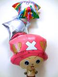誕生日・バルーンギフト「送料無料ワンピース・チョッパー 誕生日祝バルーン」バルーン電報になります。