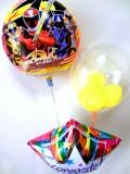 入園祝・入学祝・七五三「送料無料 手裏剣戦隊ニンニンジャーお祝バルーン」バルーン電報になります。