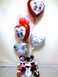 チップ&デール,オラフ,ミッキーマウス,ミニーマウス,結婚祝,バルーン電報,バルーンギフト,結婚式