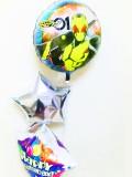 入学祝・卒業祝・七五三・卒園祝・卒業祝「仮面ライダー・ゼロワン お祝バルーン&バルーンアート」バルーン電報になります。