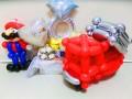 消防車結婚式祝電「消防車 結婚お祝リングバルーン」レスキュー消防署結婚祝バルーンギフト・バルーン電報になります。