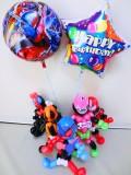 誕生日祝 バルーンギフト ガンバライド 変身ベルト「仮面ライダービルド バルーン&バルーンアート・バースデー」