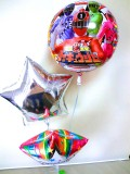入学祝・卒園祝「烈車戦隊トッキュウジャー バルーンアート&お祝バルーン」バルーン電報になります。