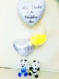 プロ野ライオンズ結婚祝・西武ライオンズ祝電・レオバルーン「ベースボール ライオン 結婚祝バルーン&バルーンアート」
