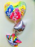 入学祝・入園祝・卒園祝・七五三祝・誕生祝バルーンギフト 「ヒーリングっと・プリキュア お祝バルーン&バルーンアート」