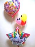 入学お祝/送料無料「ドキドキプリキュアお祝バルーン」素敵なバルーン電報になります。