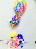プリキュア誕生祝バルーン「ヒーリングっと・プリキュア バルーン&バルーンアート・バースデー」