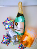 送料無料お祝ビア&シャンパンバルーン
