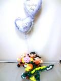 ドラゴンボール・孫梧空・クリリン・結婚式場・祝電・ブライダル「ドラゴン結婚祝バルーン&バルーンアート」