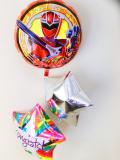 入園祝・卒園祝・七五三・入学祝・誕生祝バルーンギフト「送料無料魔進戦隊キラメイジャー お祝バルーン」