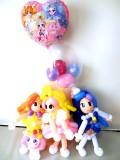 入学祝・入園祝・卒業祝・七五三「プリンセス・プリキュア バルーン&バルーンアート」バルーン電報になります。