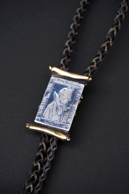GANGSTERVILLE×galcia BOLO - TIE PLATE