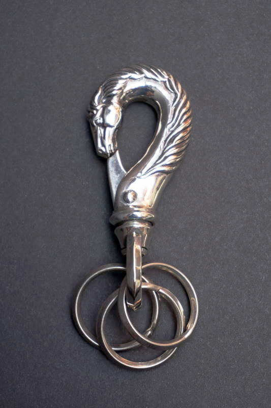 PEANUTS & Co. horse key hook L silver