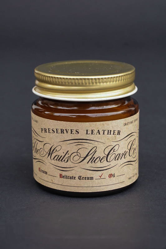 The MAIL's shoe care Co. Neutral Shoe cream / 無色