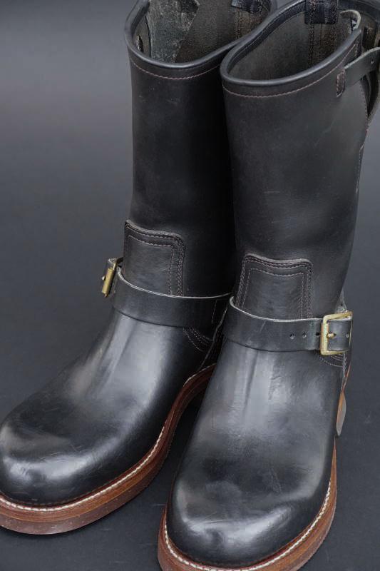 CLINCH Engineer boots Latigo Black
