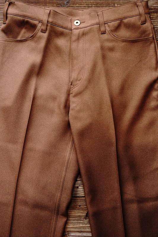 GANGSTERVILLE REBELS - PANTS BROWN