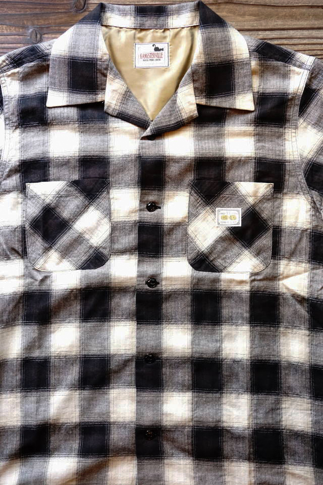 GANGSTERVILLE JAMES - S/S SHIRTS BLACK