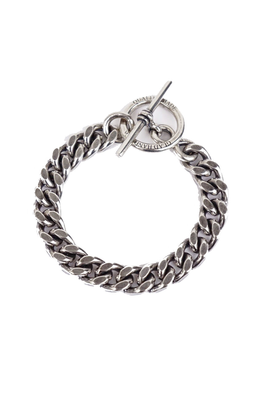 """GLAD HAND JEWELRY  CHAIN BRACELET SILVER925 """"MADE IN U.S.A."""""""