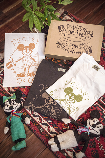 Peanuts & Co. PECKEYMOUSE T-SHIRT BOX SET