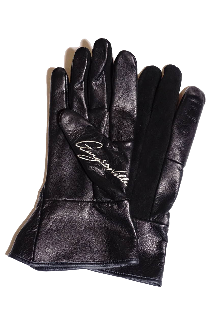 GANGSTERVILLE THUG RIDE - GLOVE BLACK