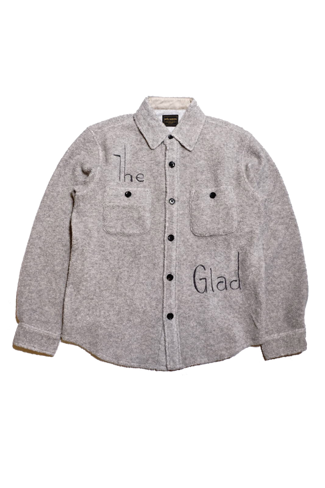 BY GLAD HAND THE GLAD - L/S BOA SHIRTS GRAY