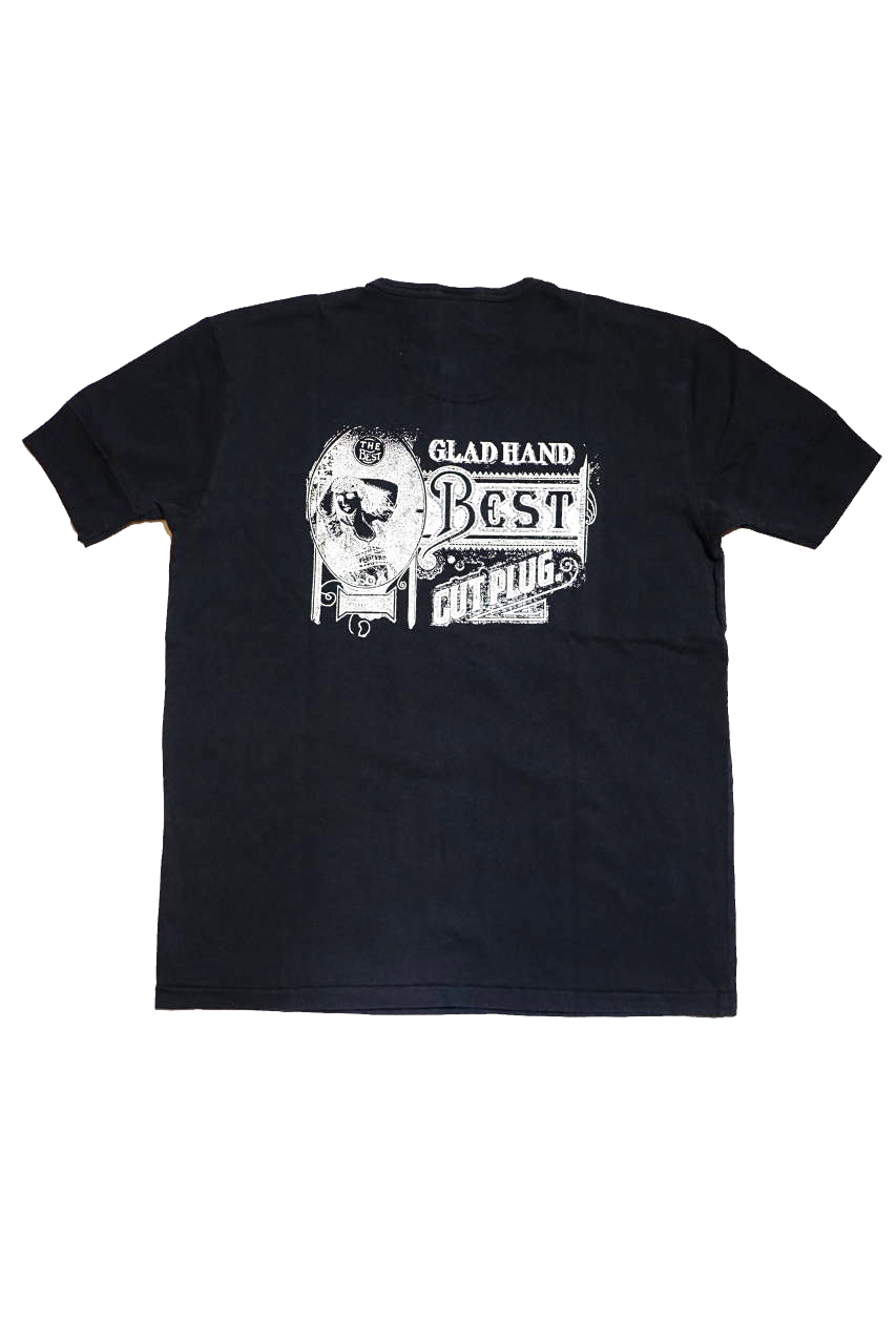 BY GLAD HAND BY GLAD HAND FOR SMOKING LADY - S/S HENRY T-SHIRTS BLACK